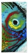 Tropical Fish - Art By Sharon Cummings Hand Towel