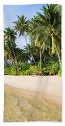 Tropical Island Beach Scenery Bath Towel