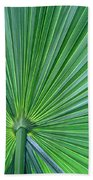 Tropical Leaf Bath Towel