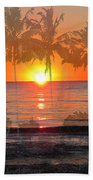Tropical Spirits - Palm Tree Art By Sharon Cummings Bath Towel