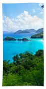 Trunk Bay Bath Towel