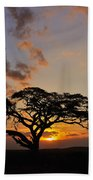 Tsavo Sunset Bath Towel