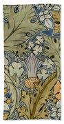 Tudor Roses Thistles And Shamrock Bath Towel