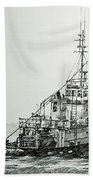 Tugboat Richard Foss Bath Towel