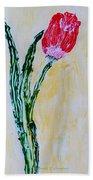 Tulip For You Bath Towel