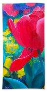 Tulip Garden Hand Towel
