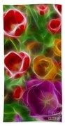 Tulips-6944-fractal Bath Towel