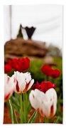 Tulips Ani Tsalagi Bath Towel