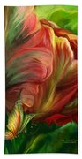 Tulips - Colors Of Paradise Bath Towel