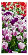 Tulips Field Bath Towel