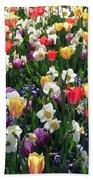 Tulips - Field With Love 58 Bath Towel