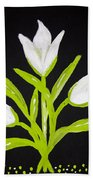 Tulips Hand Towel by Melissa Dawn