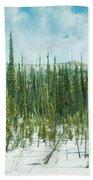 Tundra Forest Bath Towel