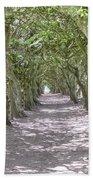 Tunnel Of Trees Bath Towel