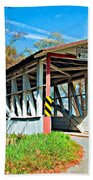 Turner's Covered Bridge Bath Towel