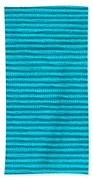 Turquoise Cloth Bath Towel