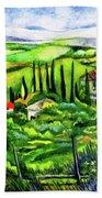 Tuscan Valley Bath Towel
