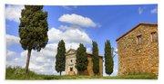 Tuscany - Cappella Di Vitaleta Hand Towel