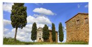 Tuscany - Cappella Di Vitaleta Bath Towel