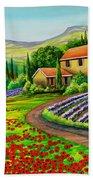Tuscany Lavender  Bath Towel
