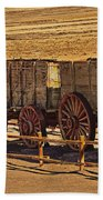 Twenty-mule Team In Sepia Bath Towel