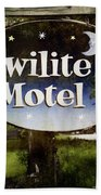 Twilight Motel Bath Towel