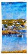 Twillingate In Newfoundland Bath Towel