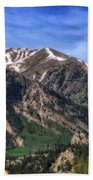 Twin Lakes Colorado Bath Towel