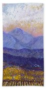Twin Peaks Above The Fruited Plain Hand Towel