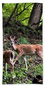 Two Deer Bath Towel