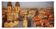 Tyn Church Old Town Square Hand Towel