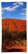 Uluru Central Australia Bath Towel
