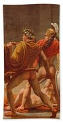 Ulysses Revenge On Penelopes Suitors Bath Towel