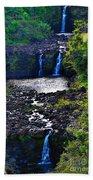 Umauma Falls I Bath Towel