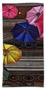 Umbrella Fun Bath Towel