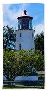 Umpqua River Lighthouse Bath Towel
