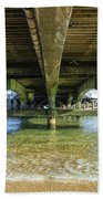 Under A Pier Bath Towel