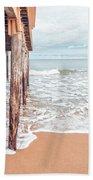 Under The Boardwalk Salsibury Beach Bath Towel