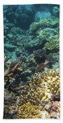 Underwater Color Hand Towel