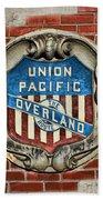 Union Pacific Crest Bath Towel