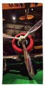 United States Airplane Museum Bath Towel