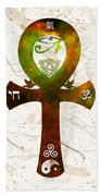Unity 11 - Spiritual Artwork Bath Towel