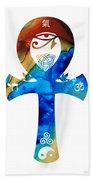 Unity 15 - Spiritual Artwork Bath Towel
