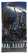 Universal Studios Globe Bath Towel