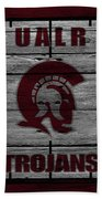 University Of Arkansas At Little Rock Trojans Bath Towel