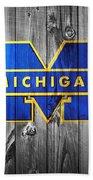 University Of Michigan Bath Towel