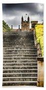 University Of Sydney Steps Bath Towel