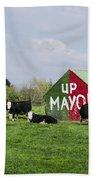 Up Mayo Bath Towel