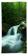 Upper Lynn Camp Prong Cascades Bath Towel