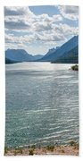 Upper Waterton Lake Bath Towel